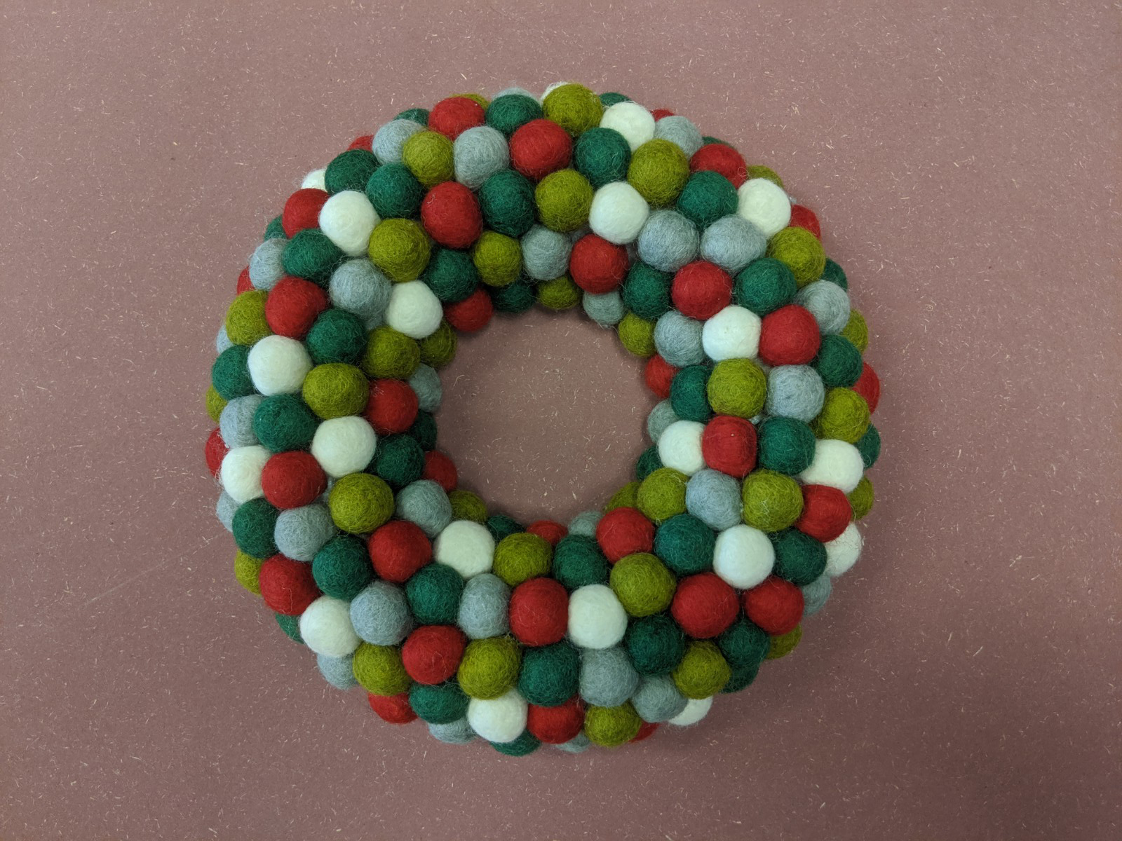 Felt Christmas Wreath - Half day course