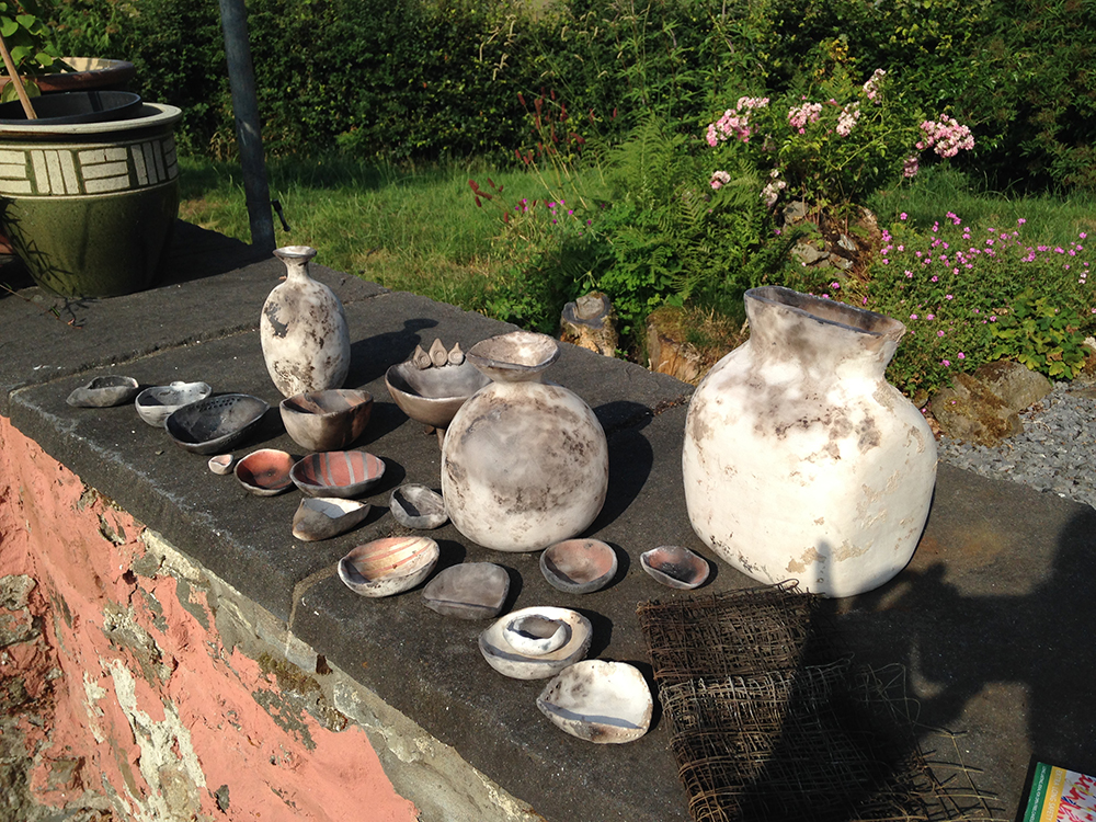Handbuilt smoke fired ceramics workshop (1 and a half day course)