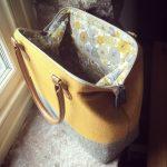 Handmade bag by Hole House
