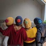 swirl hat knitting