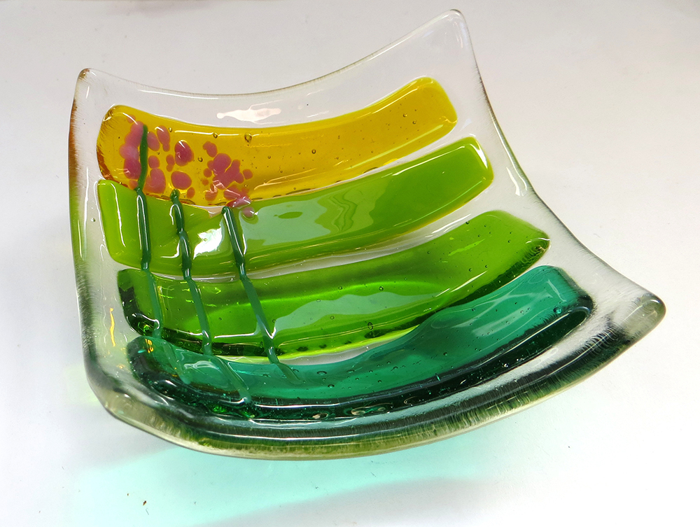 Make your own Fused Glass Bowl or Wall Hanging