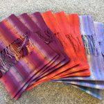 scarf making