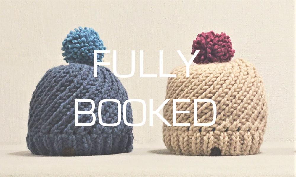 Swirl Hat intermediate knitting workshop - full day course