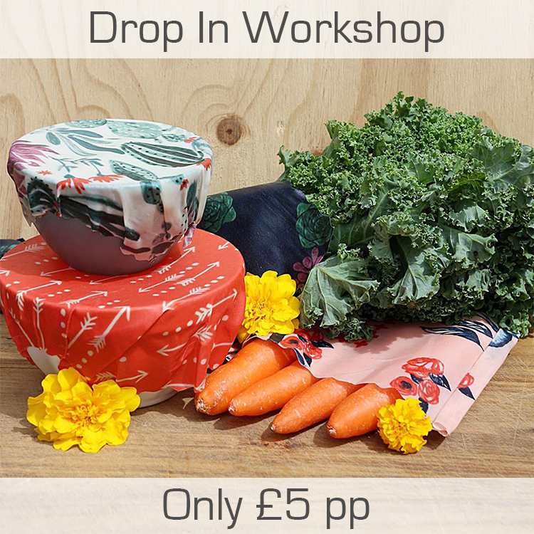 Beeswax Wrap Making - Drop In Workshop