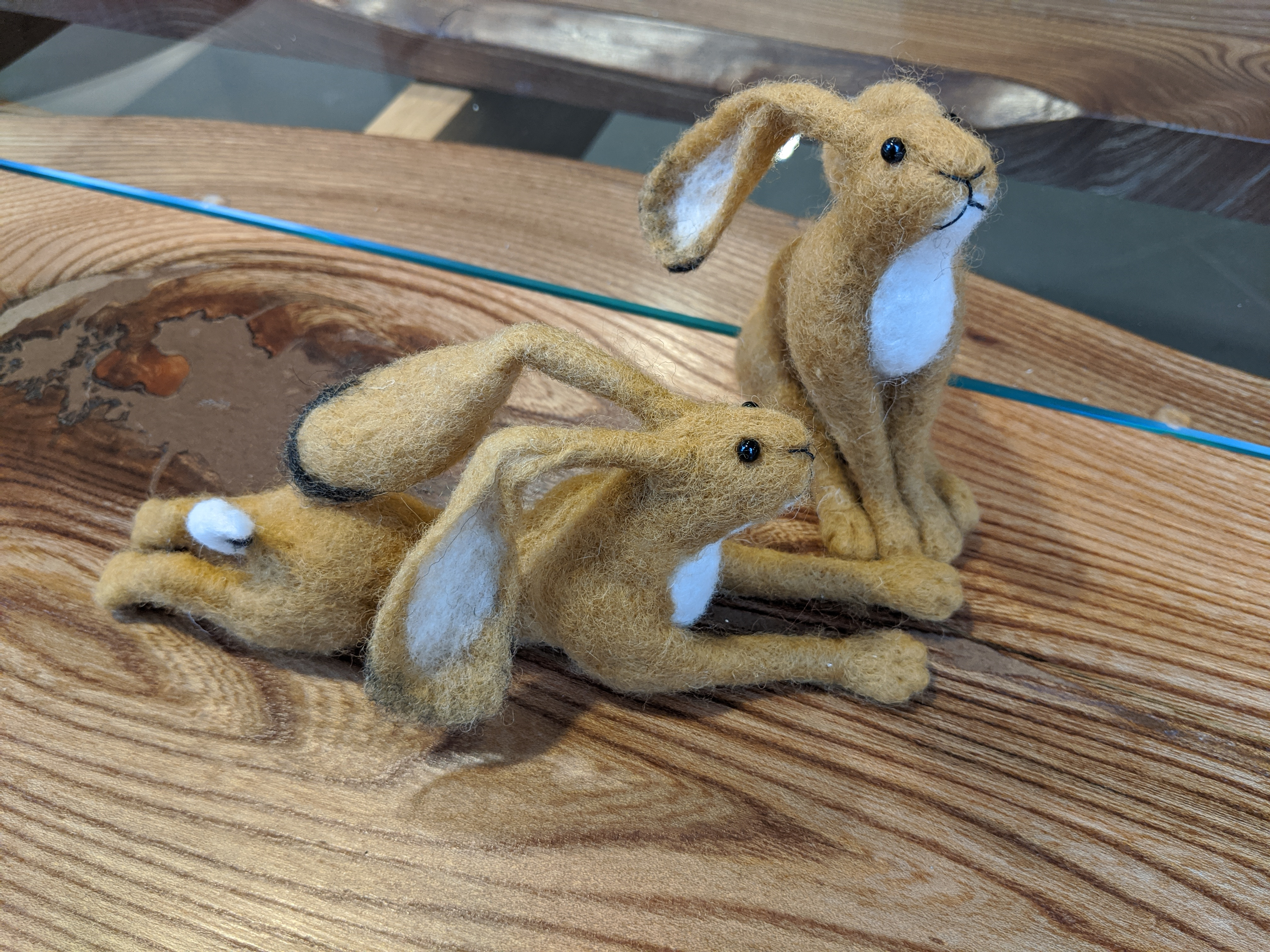 Have a stab at this! Needlefelt Animal Workshop.