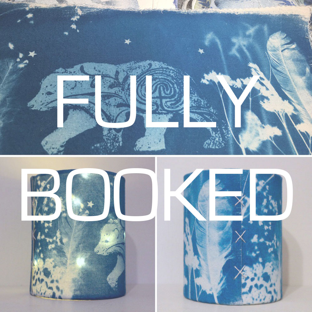 Cyanotype Printing Lantern Workshop