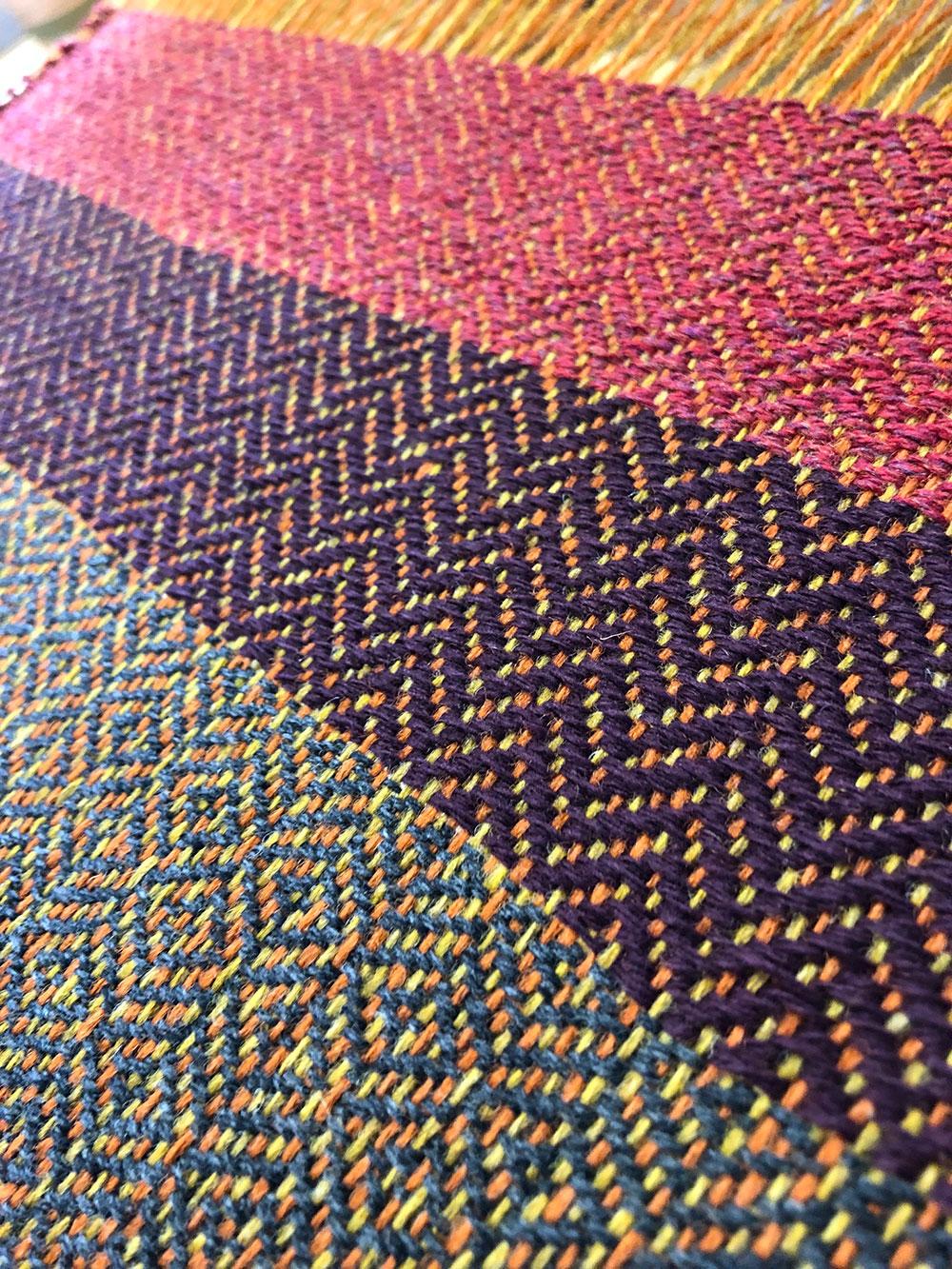 Weaving Tweed and Textures