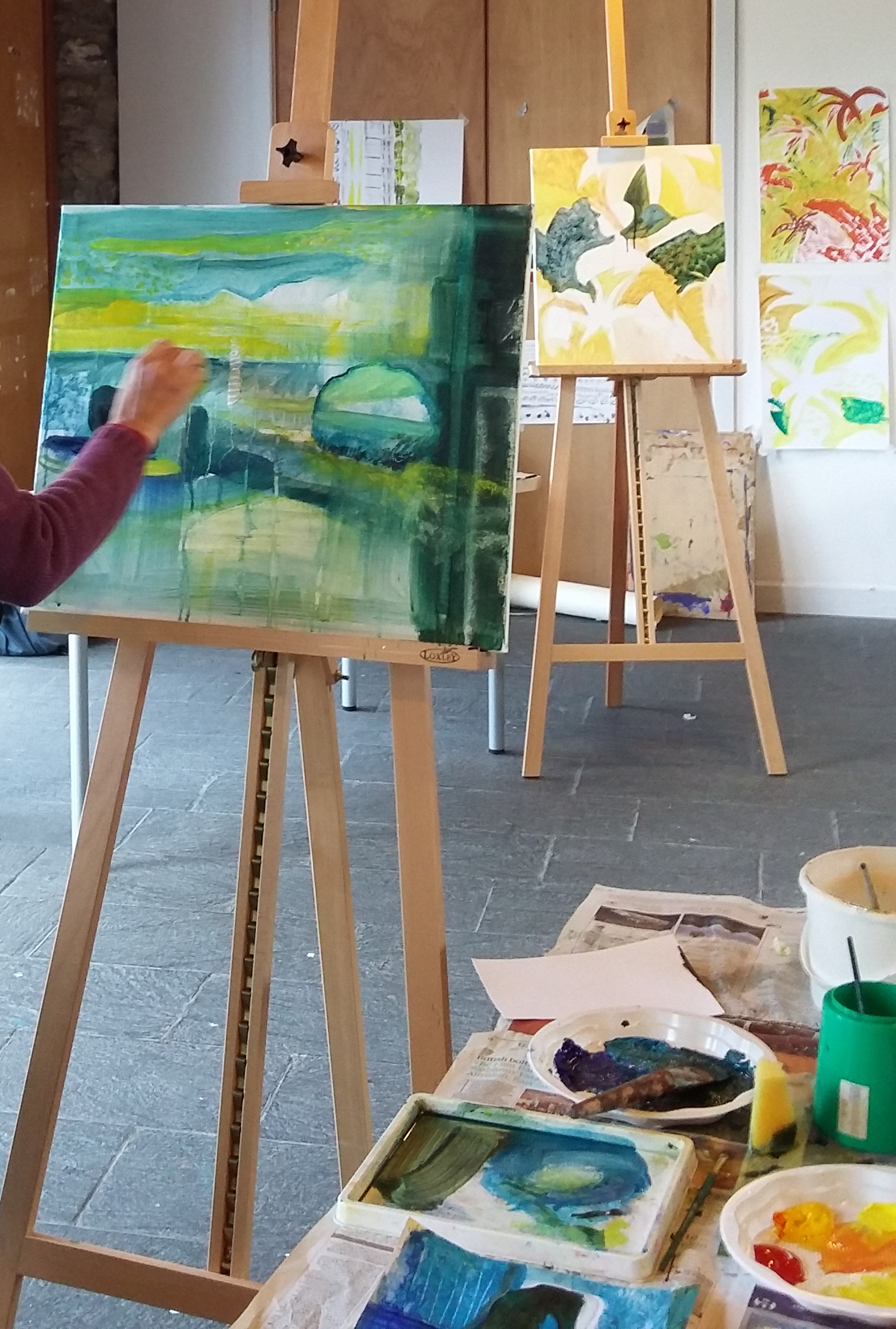 Introduction to Abstract Painting – Half Day Workshop