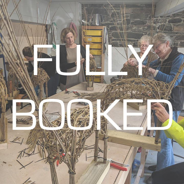 Willow Sheep Sculpture Day Course
