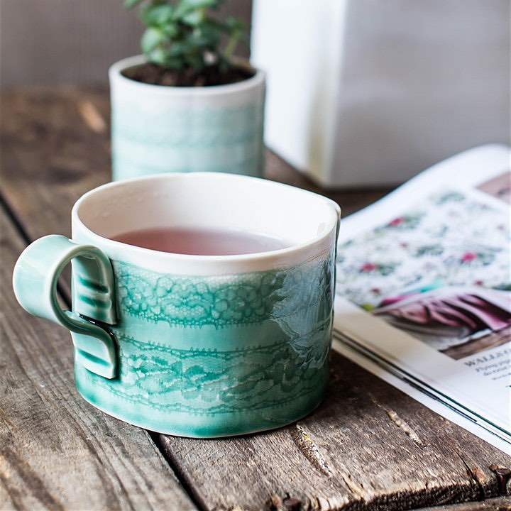 Porcelain Mug Making - Evening Course with Cath Ball of Stitched Ceramics