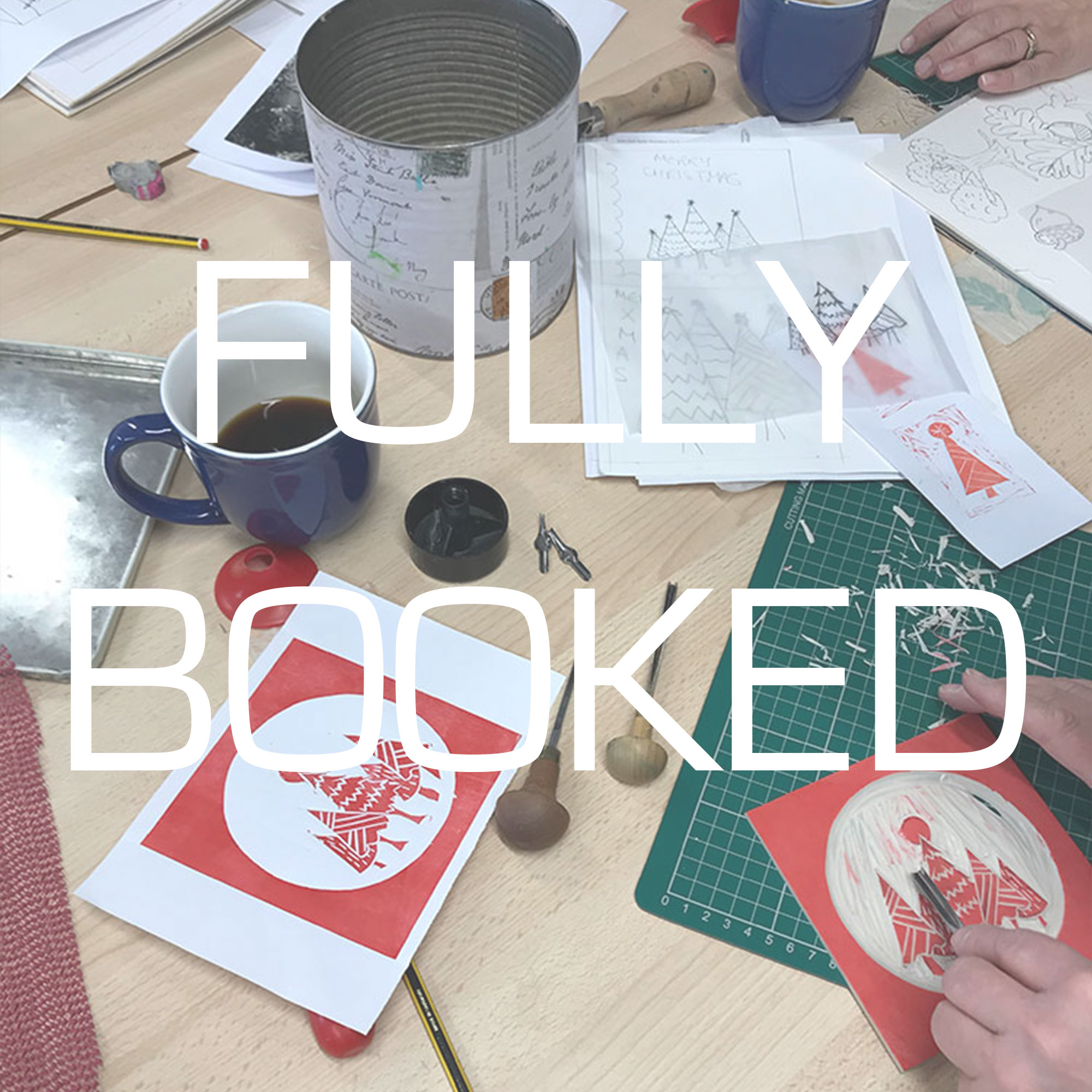 Introduction to Lino Printing with Liz Jones- one colour half day workshop
